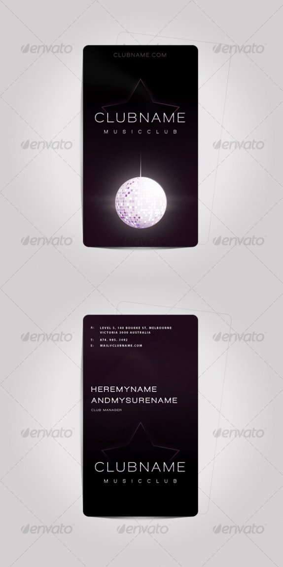 Music Business Cards Template New Cardview – Business Card & Visit Card Design