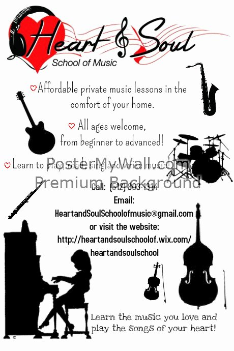 Music Lesson Flyer Template Best Of Music Lesson Recruitment Flyer Template