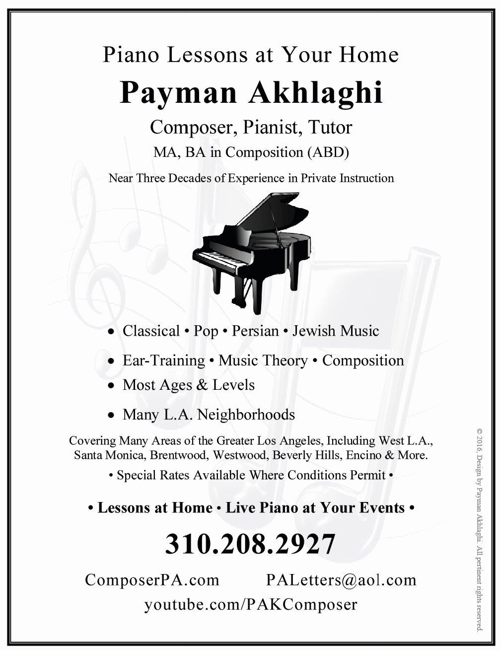 Music Lesson Flyer Template Best Of Pardess Rimonim
