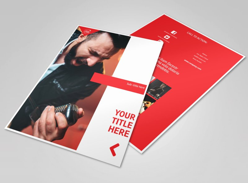 Music Lesson Flyer Template New Music Lessons Flyer Template