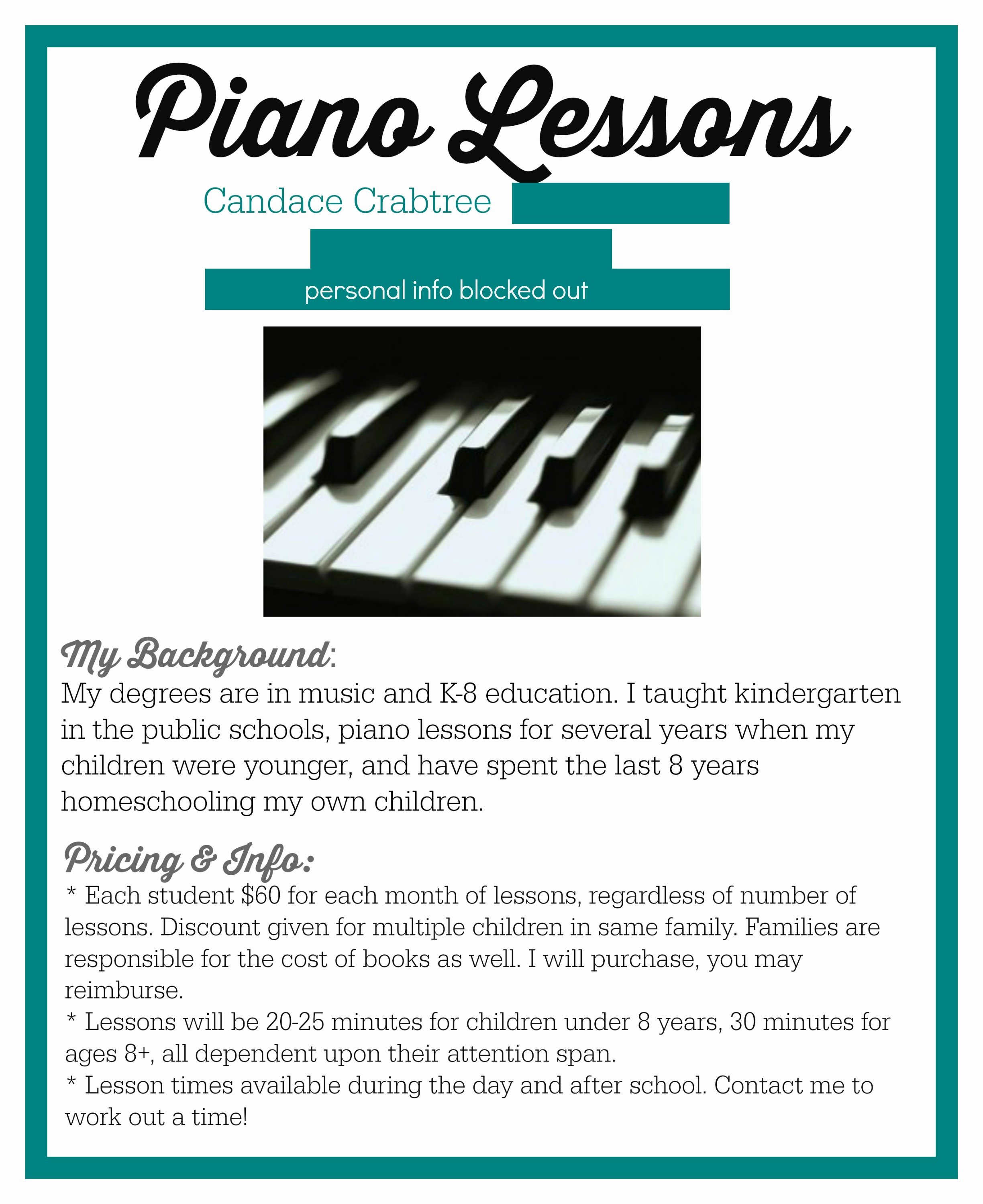 Music Lesson Flyer Template Unique Listening and Waiting for God's Voice