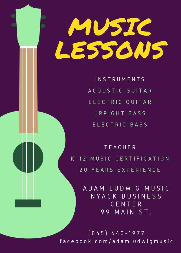 Music Lesson Flyer Template Unique Private Music Lessons – Musicworks