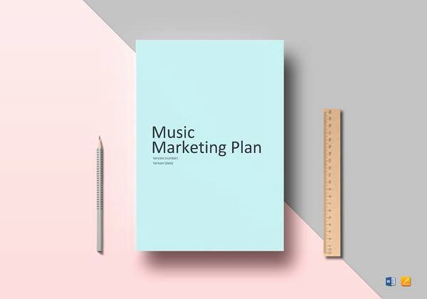 Music Marketing Plan Template Elegant 14 Marketing Plan Outline Samples