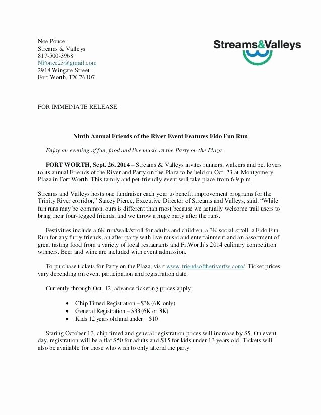 Music Press Release Template Fresh Sample Press Release Template Music News Document Re
