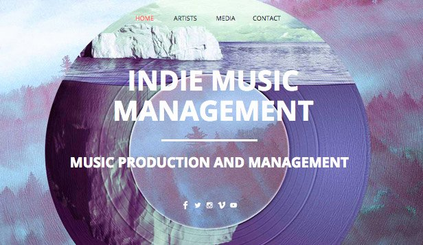 Music Producer Website Template Best Of In Music Productions Wix Template