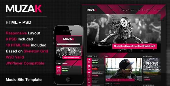 Music Producer Website Template Best Of Wordpress Music themes and Plugins Easy Music theme Website