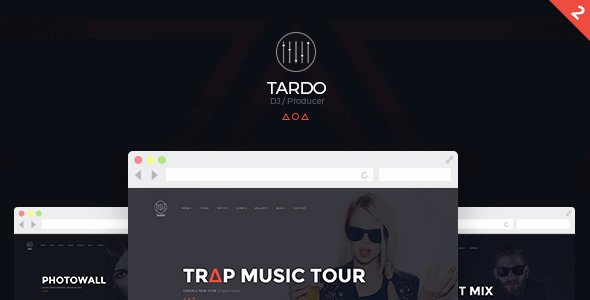 Music Producer Website Template Fresh Dj Tardo Music & Producer Bootstrap Template Site
