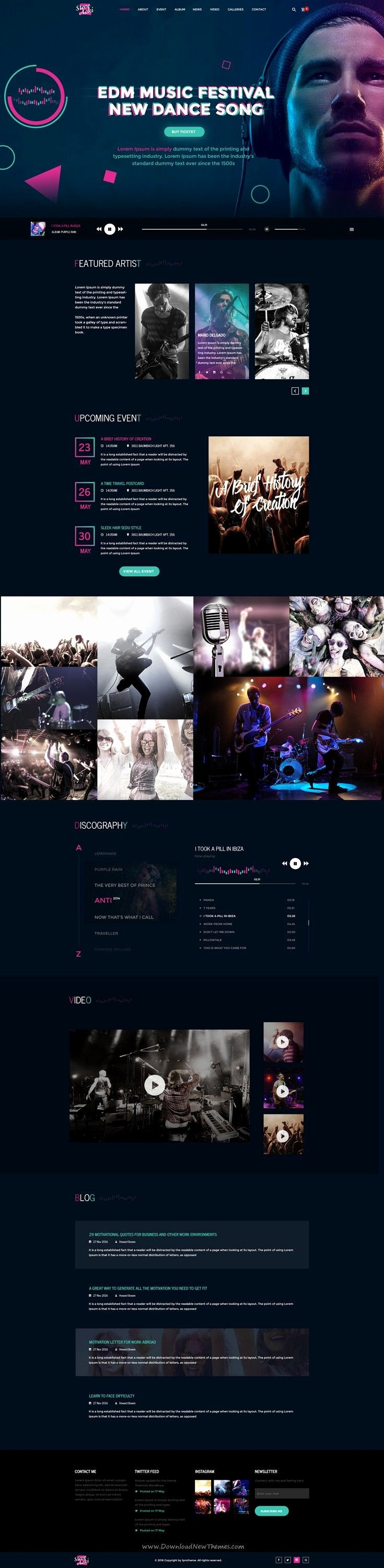 Music Producer Website Template Luxury Best 25 Portfolio Website Ideas On Pinterest