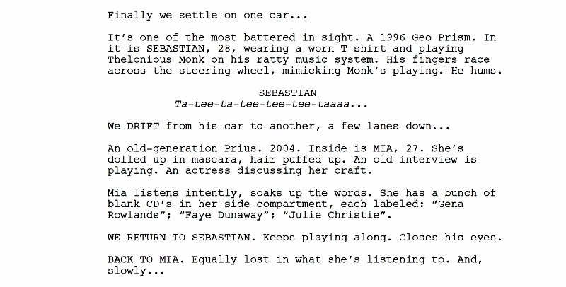 Music Video Script Template New How to Write and format A Musical Feature Screenplay