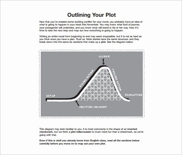 Mystery Novel Outline Template Luxury 7 Novel Outline Templates Doc Pdf Excel