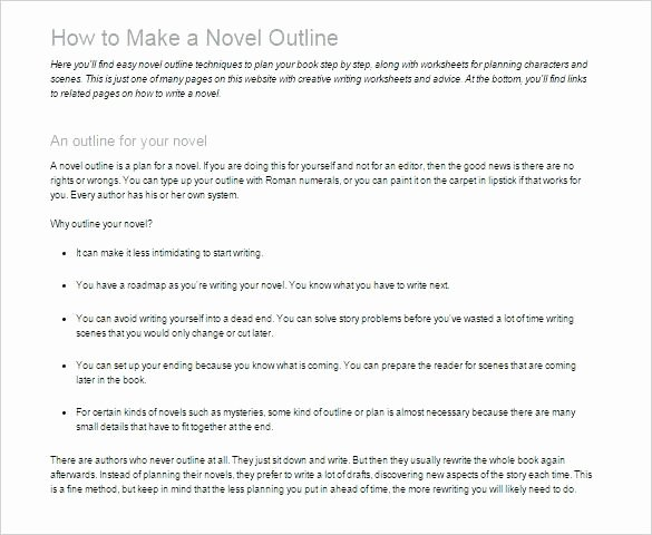 Mystery Novel Outline Template Luxury Fiction Book Proposal Template Printable Writing A Novel