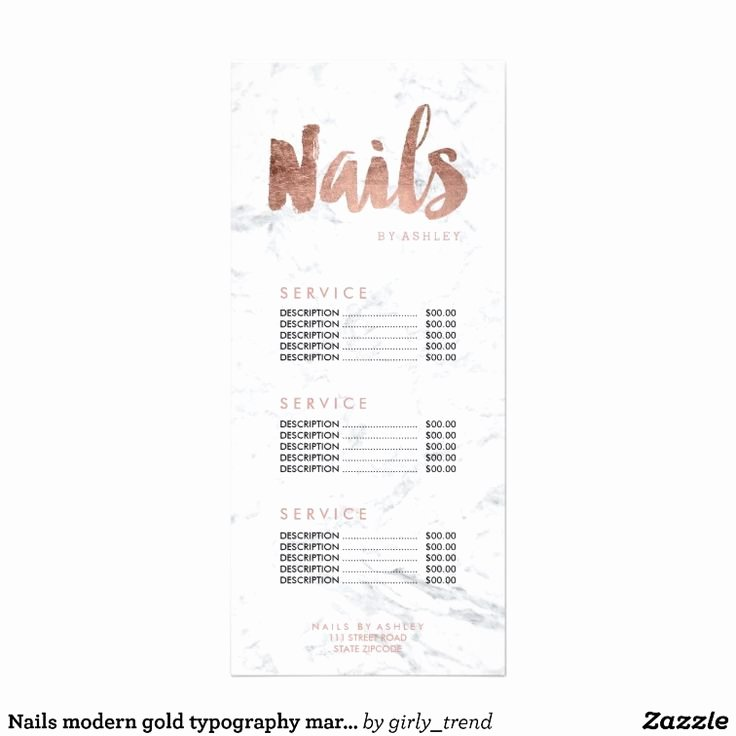 Nail Price List Template Beautiful Best 25 Price List Ideas On Pinterest