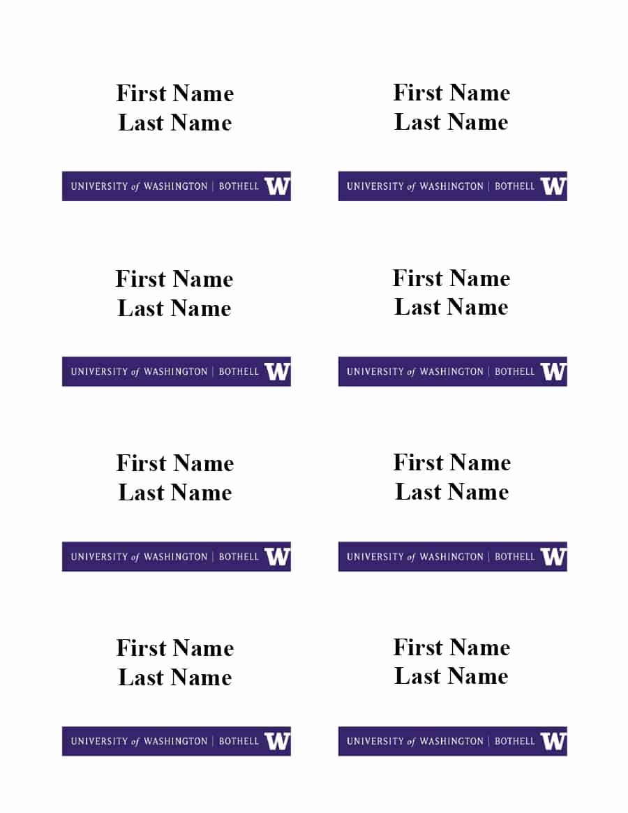 Name Badge Template Free Fresh 47 Free Name Tag Badge Templates Template Lab