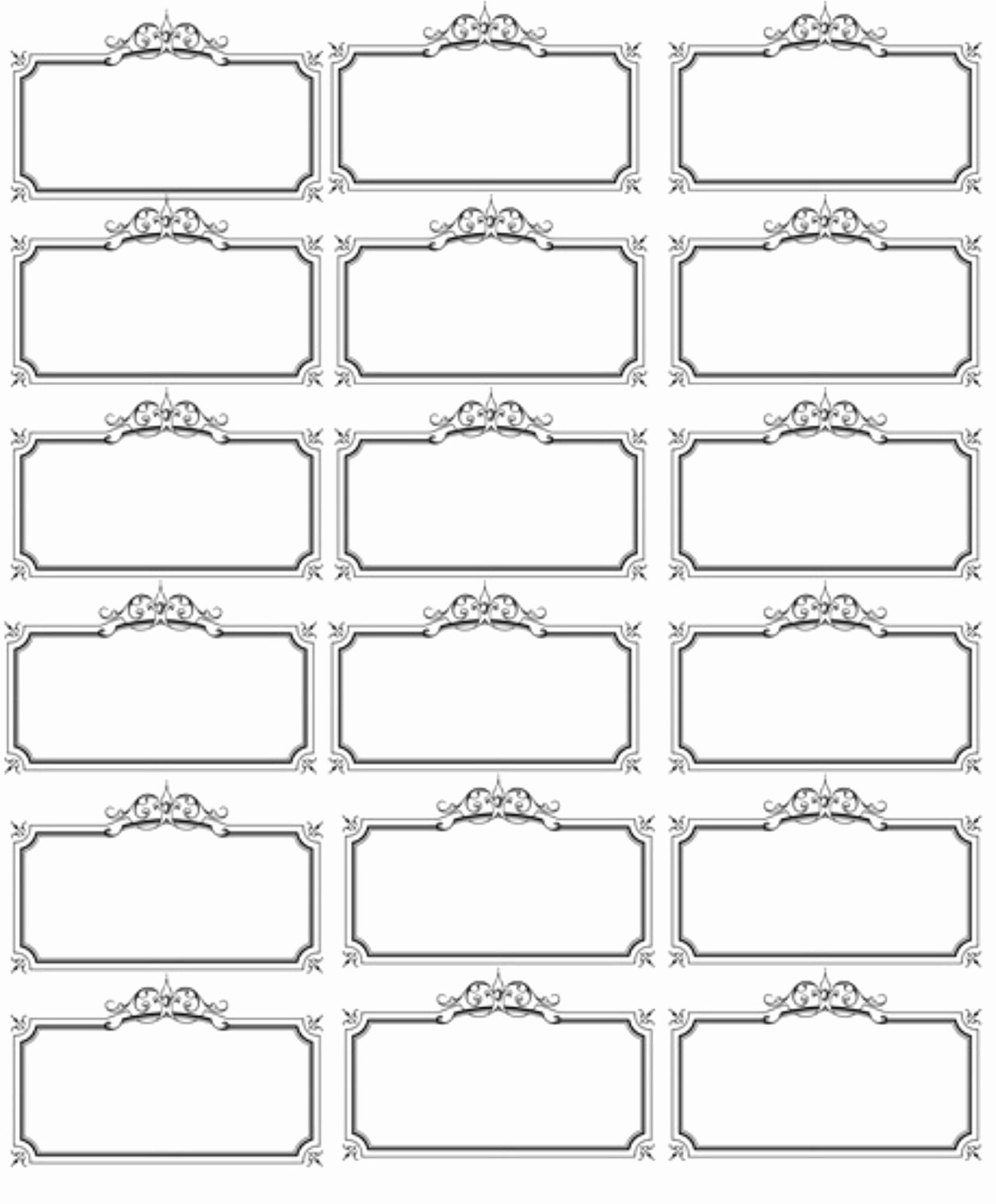 Name Tag Template Free Elegant Pin by Dears Nov On Labels Pinterest