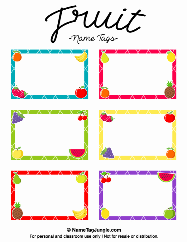 Name Tag Template Free Luxury Pin by Muse Printables On Name Tags at Nametagjungle