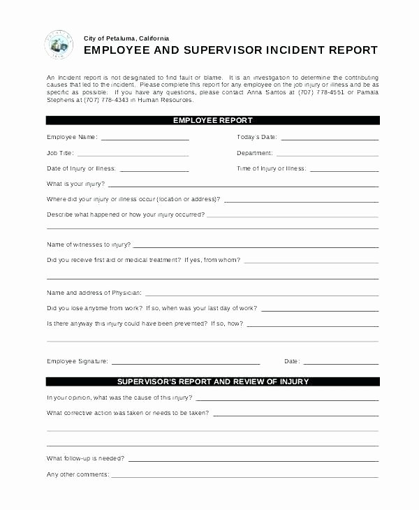 Network Security Policy Template Fresh Network Report Template Incident form Audit Sample