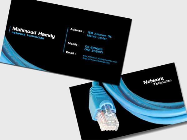 Networking Business Card Template Lovely 9 Networking Business Card Templates