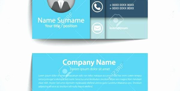 career networking business card template modern simple set or visiting vector
