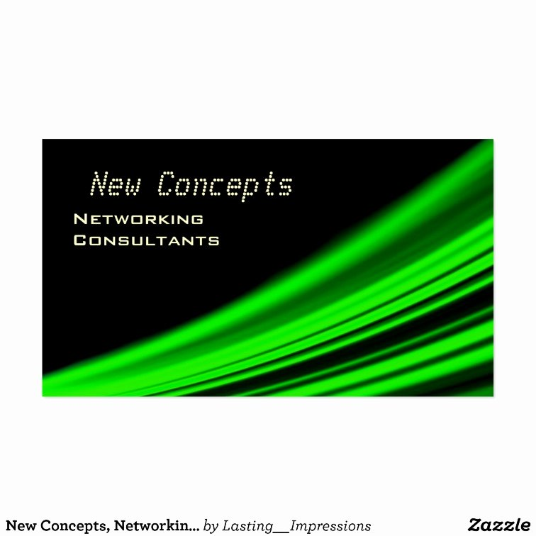 Networking Consultants Business Card Templates