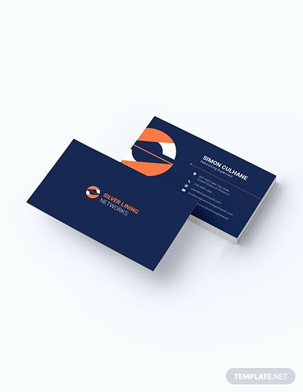 Networking Business Cards Template Inspirational 181 Free Word Business Cards Templates