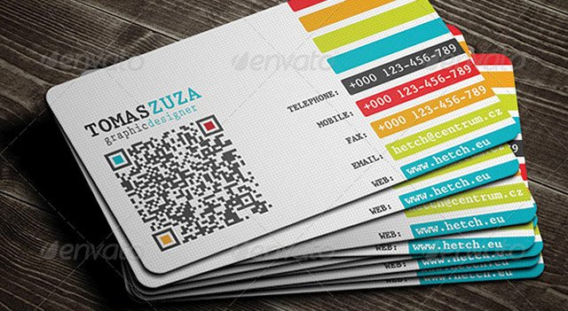 Networking Business Cards Template Unique 25 Qr Code Business Card Templates