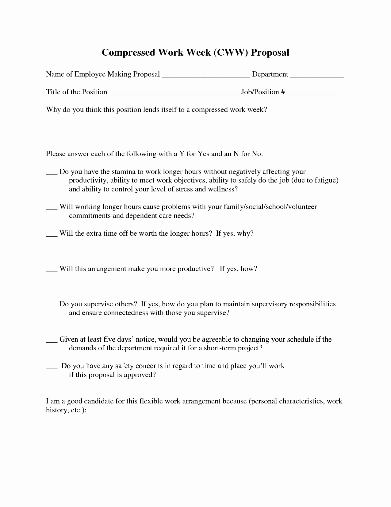 New Position Proposal Template Beautiful Job Proposal Template