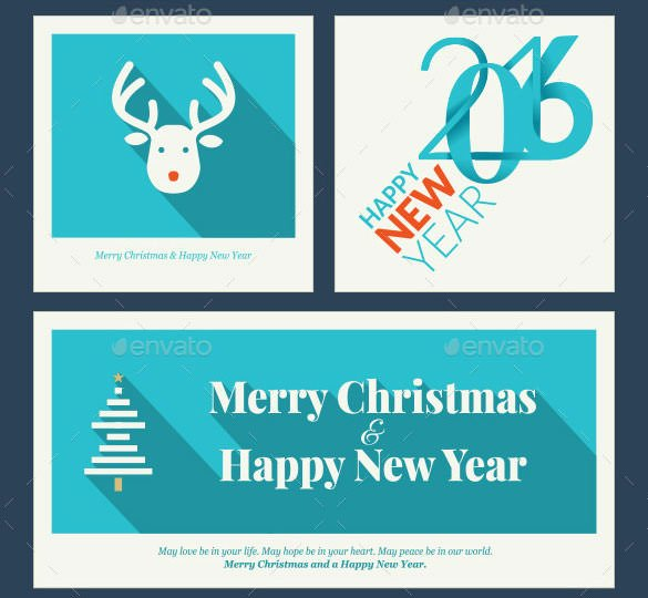 New Year Card Template Beautiful 30 New Year Greeting Card Templates Free Psd Eps Ai