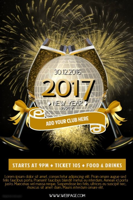 New Year Flyer Template Inspirational Church Flyer Background