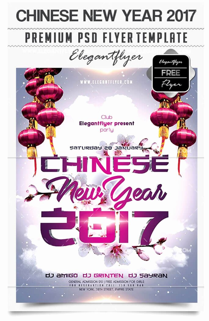 New Year Flyer Template New 29 Free New Year Flyer Templates In Psd Vector Ai Tech
