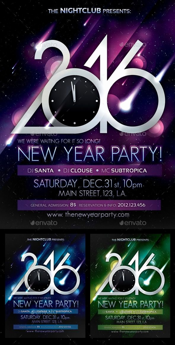 New Year Flyers Template Luxury Pin by Best Graphic Design On New Year Party Flyer