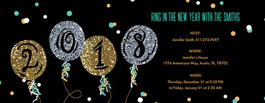 New Year Invitation Template Awesome New Year S Eve Party Invitations