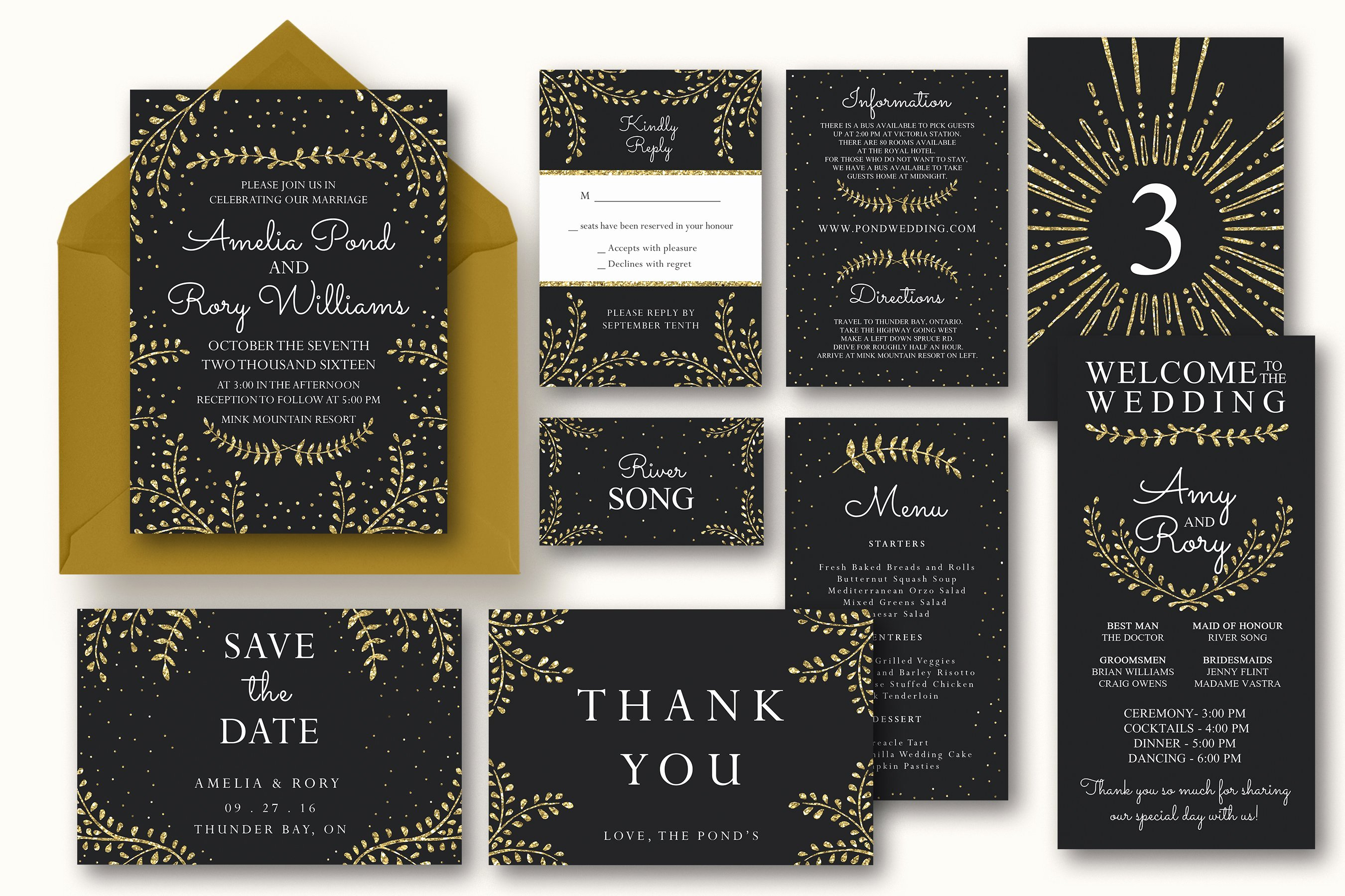 New Year Invitation Template Luxury New Years Wedding Invitation Suite Invitation Templates