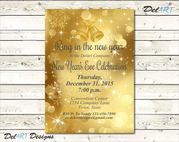 New Years Eve Template Fresh 35 Amazing New Year Party Flyer Templates to Download