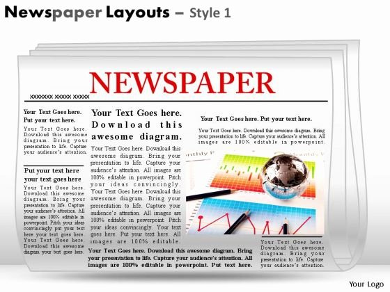 Newspaper Template for Ppt Fresh Best S Of Editable Newspaper Powerpoint Template