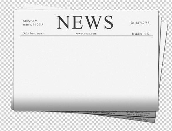 Newspaper Template for Ppt Fresh Blank Newspaper Template – 20 Free Word Pdf Indesign