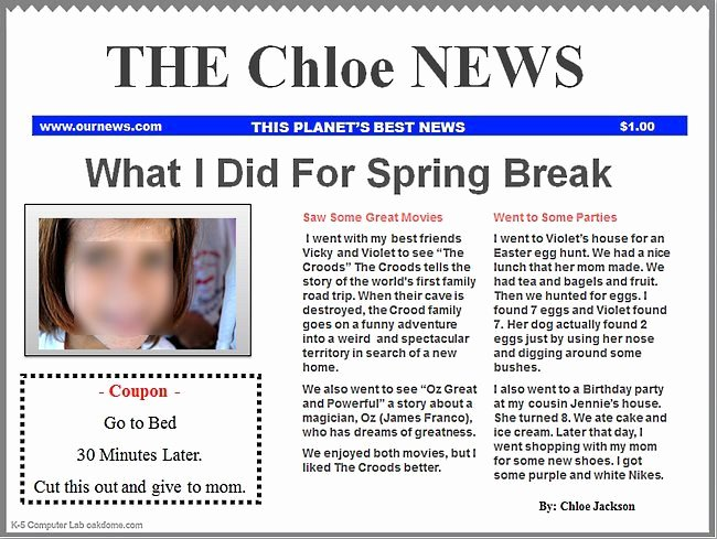 Newspaper Template for Ppt New Powerpoint Newspaper Templates