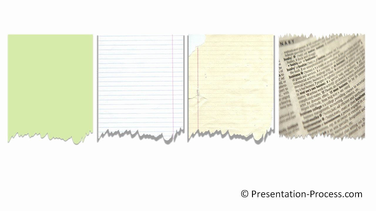 Newspaper Template for Ppt New Powerpoint torn Paper Effect Powerpoint Effect Tutorial