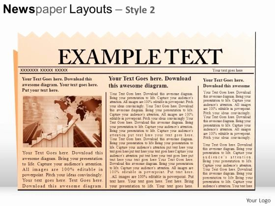 Newspaper Template for Ppt Unique Powerpoint Templates Newspaper Headlines Newspaper