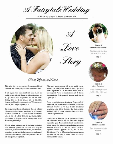 Newspaper Wedding Announcement Template Awesome Free Newspaper Templates Print and Digital