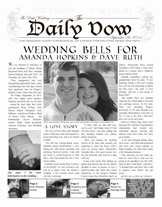 Newspaper Wedding Announcement Template Best Of Uk Make A Newspaper for Print or Line