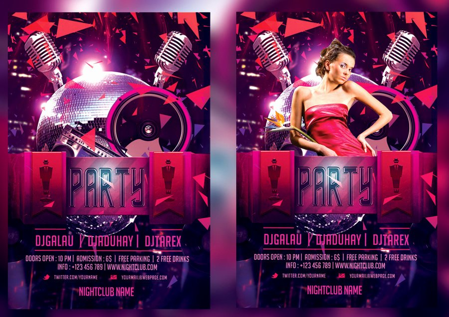 Night Club Flyer Template Beautiful Night Club Flyer Template by Mihaimcm94 On Deviantart