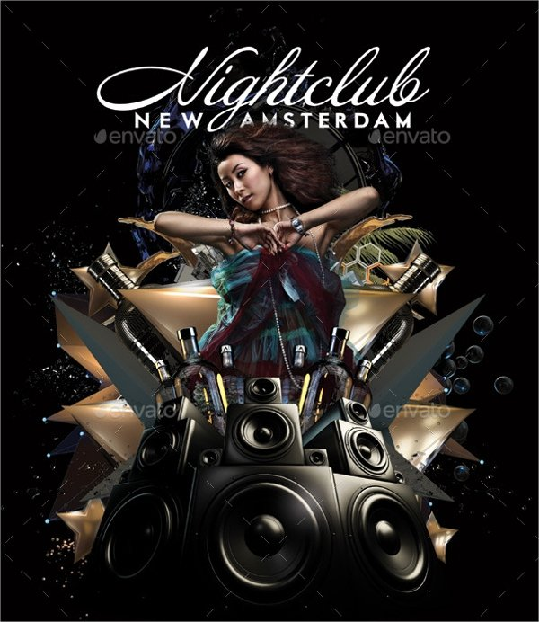 Night Club Flyer Template Inspirational 20 Club Flyer Templates