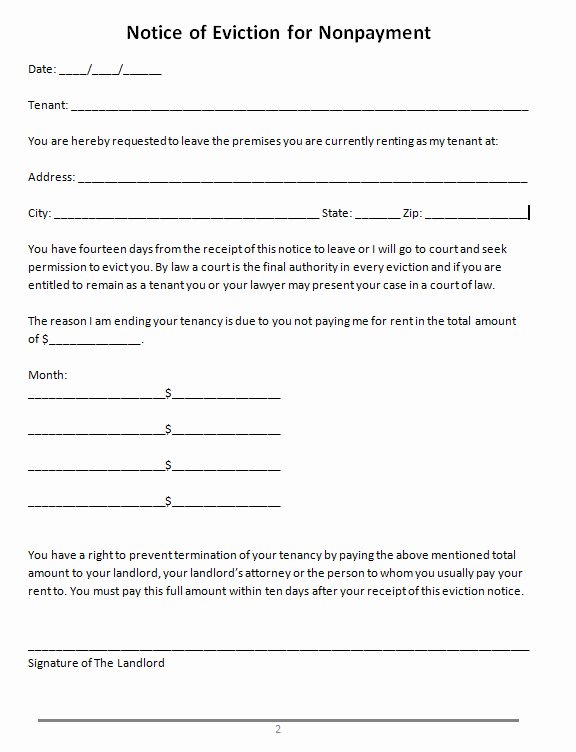 Nj Eviction Notice Template Elegant 45 Eviction Notice Templates & Lease Termination Letters