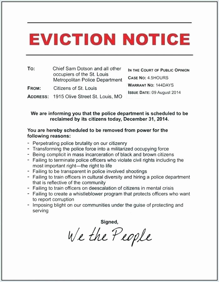 Nj Eviction Notice Template Fresh Day Eviction Notice form 6 Apartment Letter Free Tenant