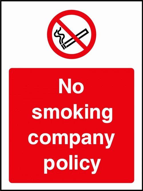 No Smoking Policy Template Awesome Smoking Pany Policy