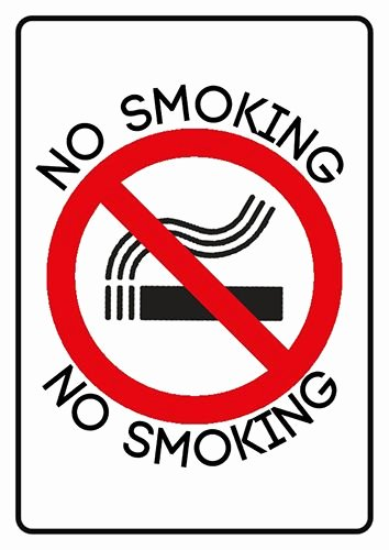 No Smoking Policy Template Fresh if You Want to Breathe Clean Air then This is Poster for