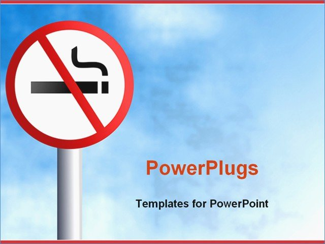 No Smoking Policy Template Unique No Smoking Ppt – Harddancefo