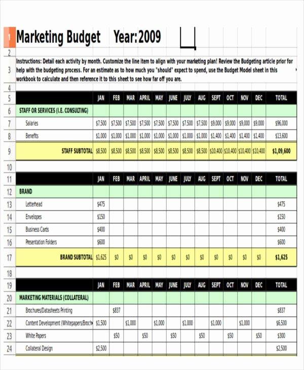 Non Profit Budget Template Elegant 12 Non Profit Bud Templates Word Pdf Excel