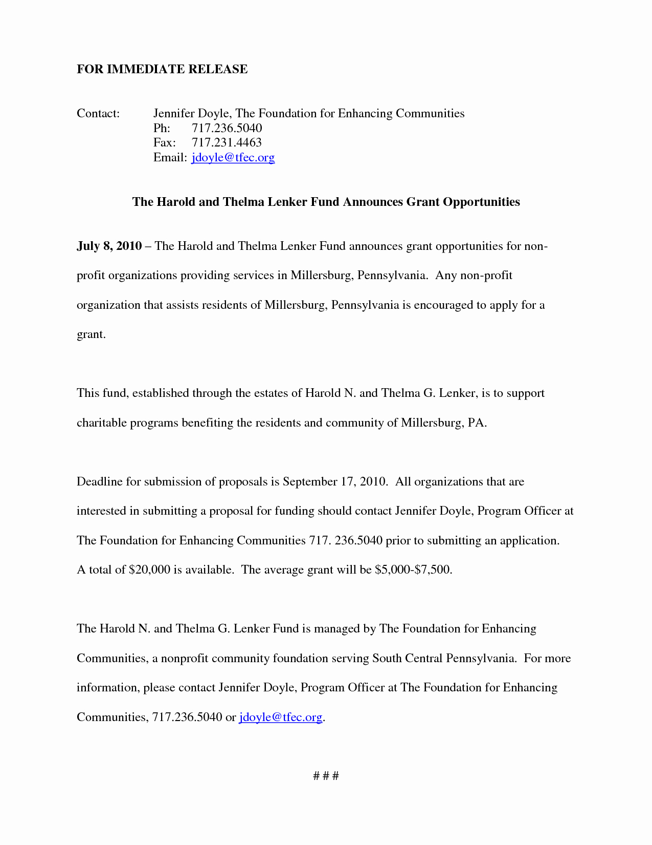 Non Profit Proposal Template Awesome 10 Best Of Non Profit Grant Proposal Sample Non