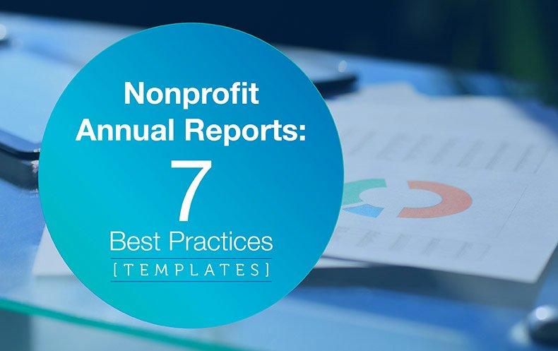 Nonprofit Annual Report Template Elegant Nonprofit Annual Reports 7 Best Practices [templates